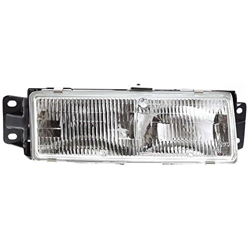 Evan-Fischer EVA13572013878 Headlight for CUTLASS CIERA 91-96 Assembly Halogen With Bulb(s) Right (1996 Cutlass Ciera)