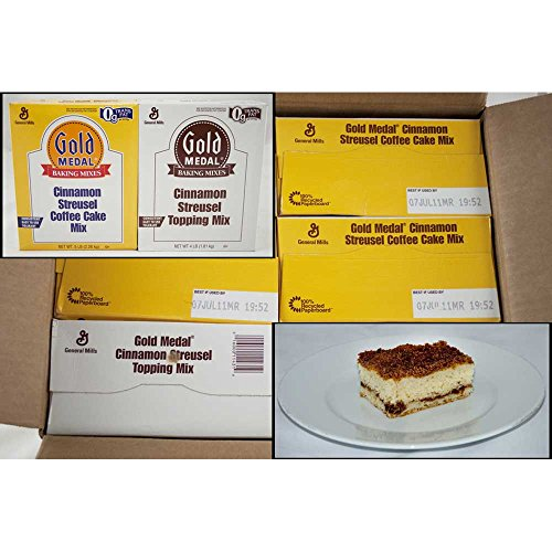Gold Medal Cinnamon Streusel Coffee Cake 4 Case 5 Pound by General Mills (Image #1)