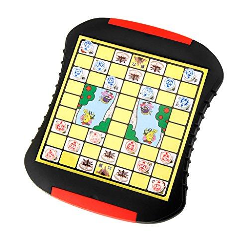 Baoblaze キッズ 子供 ジャングルチェス 知育玩具 ジャングル 動物チェスボードゲーム パズル