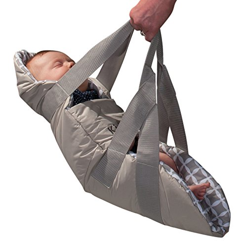 Big Save! KidCo SwingPod Infant Portable Swaddle Swing, Gray
