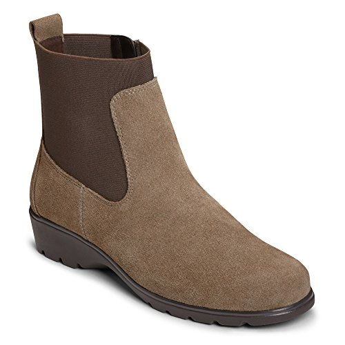 Boot Suede Ankle Women's Aerosoles Madison Taupe zqwtxvX