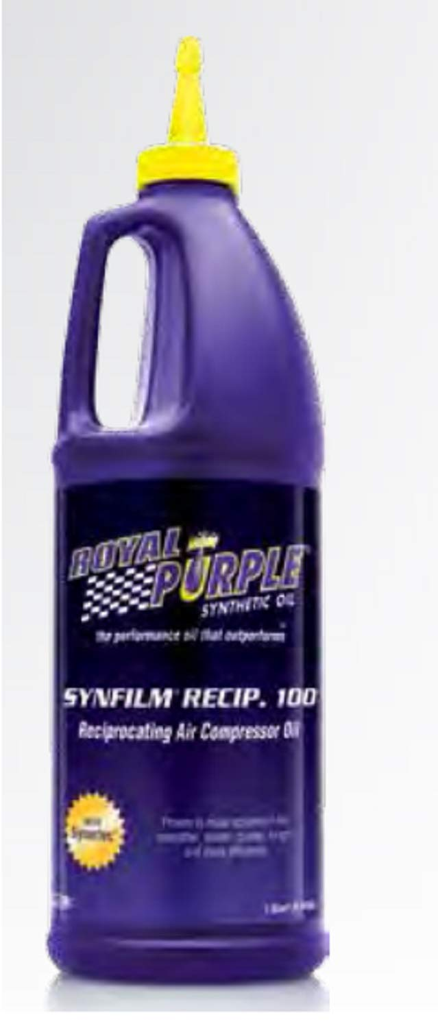 Royal Purple 01513 Synfilm Recip 100 Performance Synthetic Air Compressor Lubricant by Royal Purple