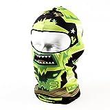 CA QLFAN Cycling Full Face Mask Sport Head Cover Cap