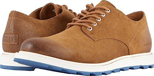 SOREL Men's Madson Oxford Waterproof Camel Brown 9.5 D US (Waterproof Mens Oxford)