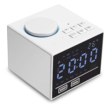Amazon.com: BECROWMUS - Reloj despertador digital con ...