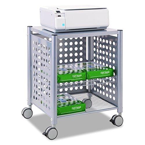 - Vertiflex Mobile Deskside Machine Stand, 21.5 x 17.875 x 27 inches, Matte Gray (VF52004)