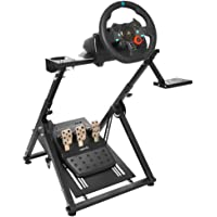 "Marada Wheel Stand Pro ""X"" FRAME Racing Simulator Steering Wheel Stand for G29 G920 T300RS T150 Wheel Pedals NOT Included Racing Wheel Stand"