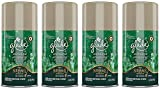 Glade Automatic Spray Refill - Holiday Collection 2018 - Enchanted Evergreens - Net Wt. 6.2 OZ (175 g) Per Refill Can - Pack of 4 Refill Cans