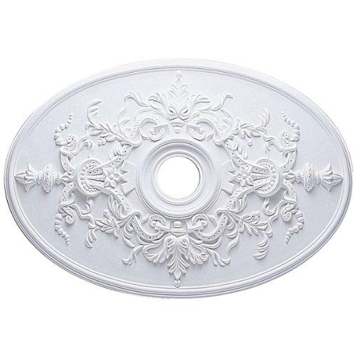 Ekena Millwork CM21X30AL 21 1/4-Inch W x 30 3/4-Inch H x 1 5/8-Inch P Alexa Ceiling Medallion