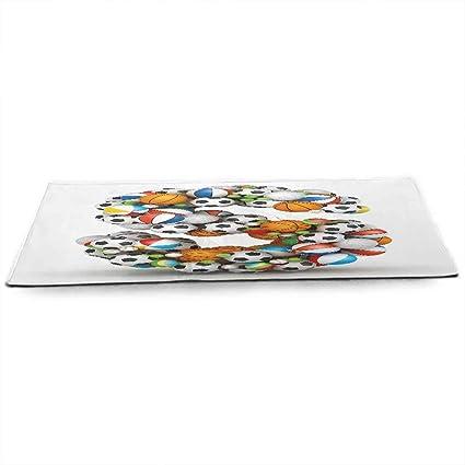 Amazon.com : WinfreyDecor Letter S Eco Friendly Yoga Mat ...