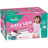 140-Count Pampers Easy Ups Disposable Training Girl's Underwear