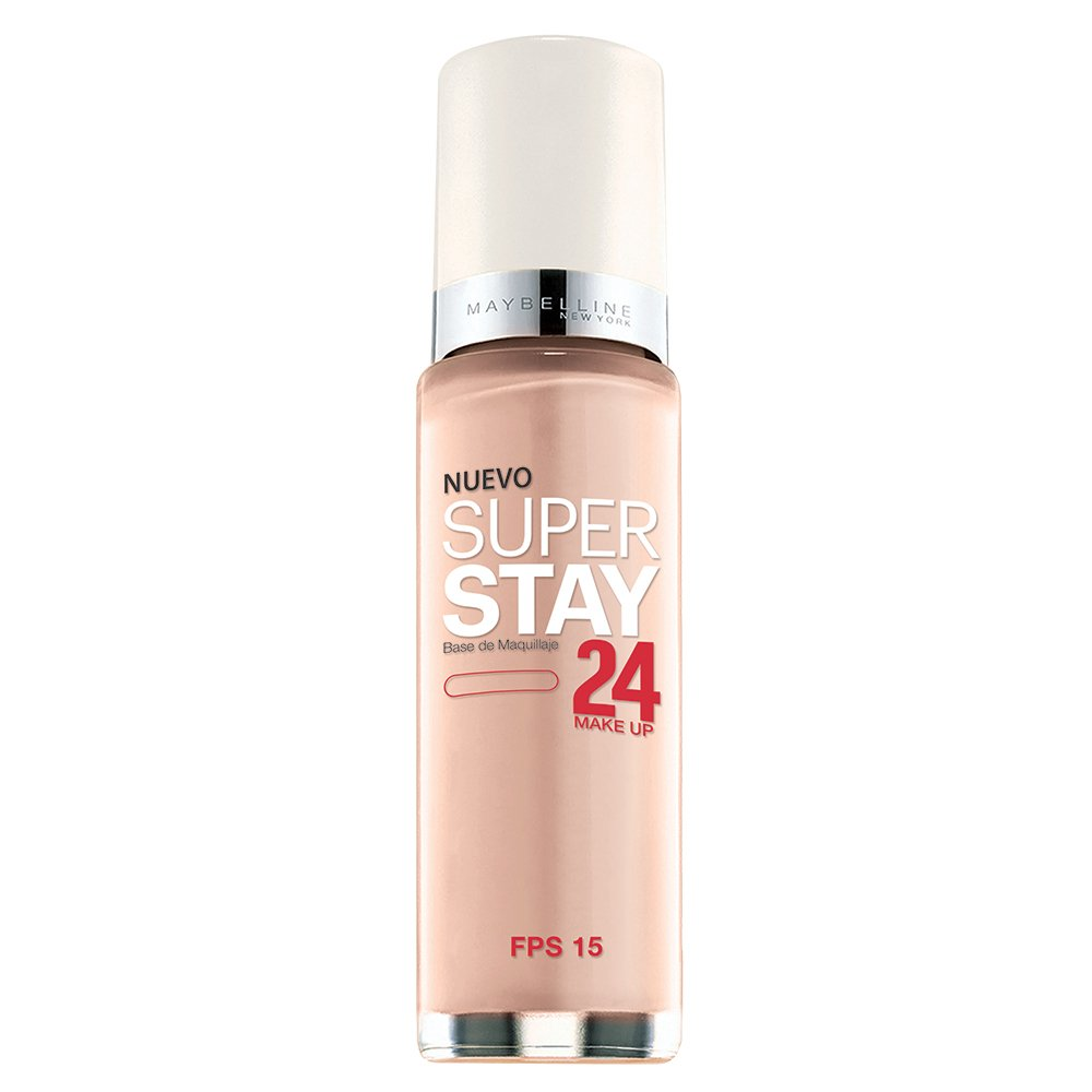 Maybelline New York Super Stay 24Hr Makeup, Classic Ivory, 1 Fluid Ounce