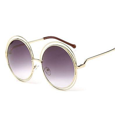 DIYOO Adultos Retro Gafas de Sol Redondas Estilo John ...