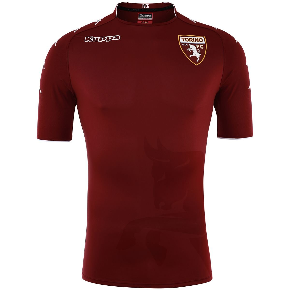 2017-2018 Torino Kappa Authentic Home Shirt B074WP9XN7Maroon XL Adults