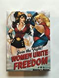 DC Bombshells Refrigerator Magnet Collection Plus