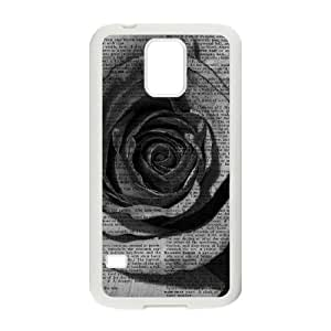 Vintage Flower Watercolor Unique Fashion Printing Phone Case for SamSung Galaxy S5 I9600,personalized cover case ygtg585849 by icecream design