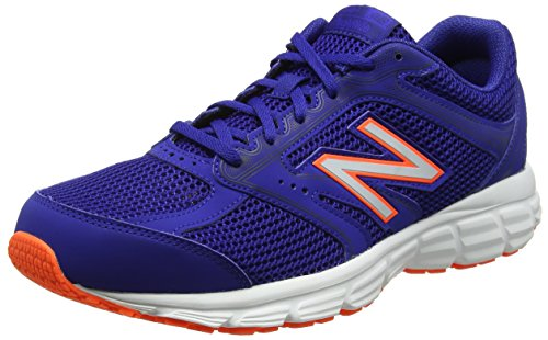 New Balance Men M460v2 Running Shoes Blue (Blue/Orange)