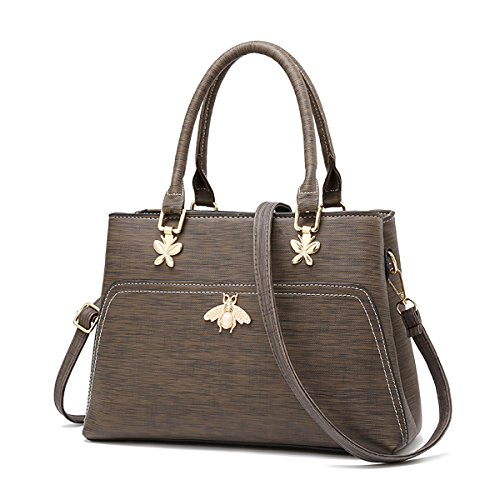 Marrone lunga a Coolives Donna Ape Borsa con mano Tracolla Marrone qqY8Ew6