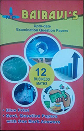 Buy Bairavi\'s +2 Business Maths Blue Print Book Online at Low Prices ...