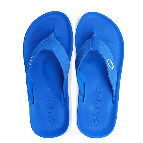 Blue Women's Flops Flip Style GAMBOL Ezy 70wAPqq