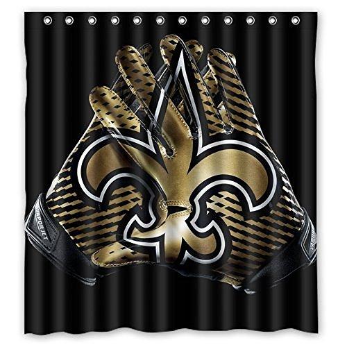 New Orleans Saints Shower Curtain Saints Shower Curtain Saints Shower Curtains