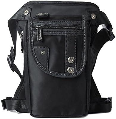 Rider Motorcycle Drop Leg Bag Men Waterproof Nylon Tactical Hip Waist Fanny Pack