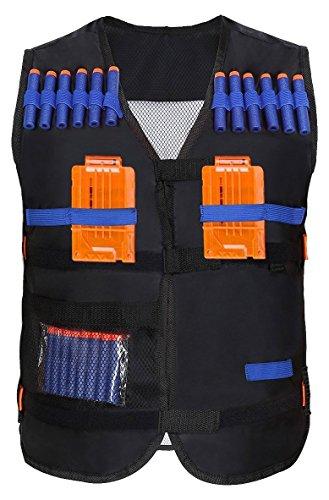 Yosoo Kids Elite Tactical Vest for EVA Nerf Gun N-strike Elite Series