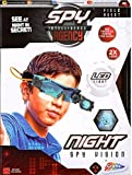 Spy Intelligence Agency Night Vision Goggles Kids LED Torch Glasses Gadget Toy