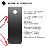 OMEN 25L Gaming Desktop PC, AMD Radeon RX 5700, AMD