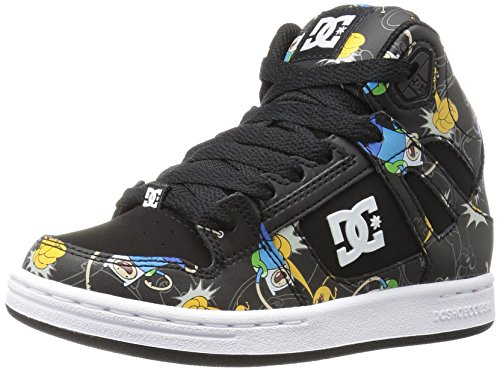 DC Rebound X at Sneaker, Multi, 6 M US Big Kid
