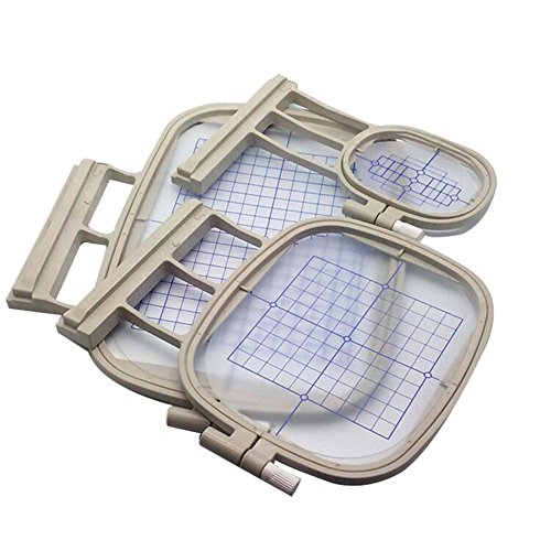 HONEYSEW 3 Hoops for Brother Embroidery Machine Duetta 4500D 4750D Quattro 6000D 6700D Innov-is 2500D 1500D 4000D