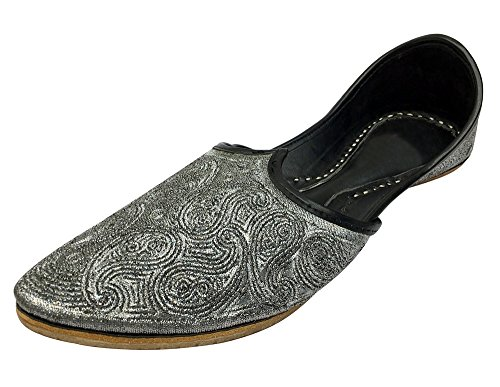 Step N Estilo Indian Seventy's Buffalo Leather Jooti Mojari Zapatos Khussa Zapatos Jutti