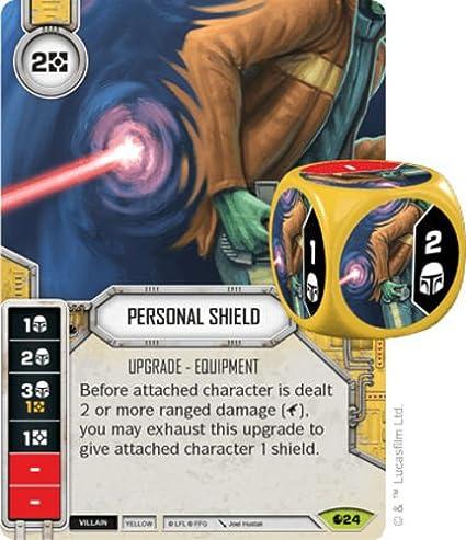 Star Wars Destiny Spirit of Rebellion Vibroknucklers #25 Rare w// Premium Die