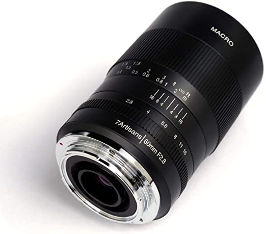7artisans 60 Mm F2 8 Aps C Makroobjektiv Für Olympus Kamera