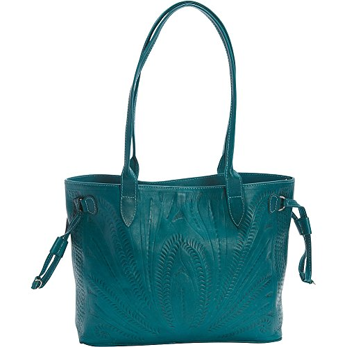 ropin-west-tote-turquoise