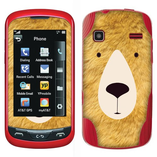 Fincibo (TM) LG Xpression C395 Rumor Reflex LN272 S LN272S Accessories Skin Vinyl Decal Sticker - Polar Bear