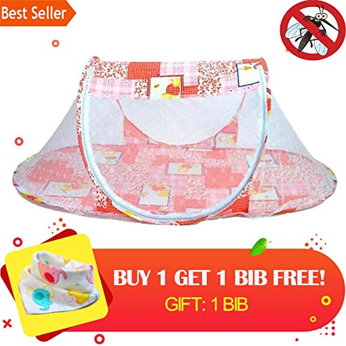 Child Portable Baby Bed Crib Folding Mosquito Net Baby Crib Mosquito Net Children Crib Mosquito Netting 0-36 Months ()