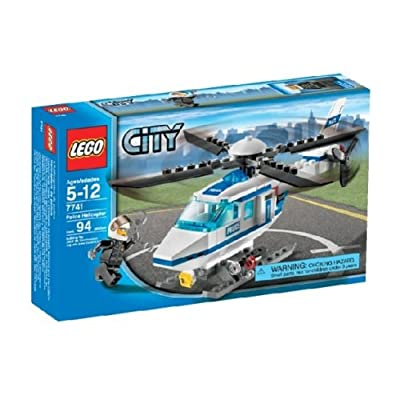LEGO City Police Helicopter 7741: Toys & Games