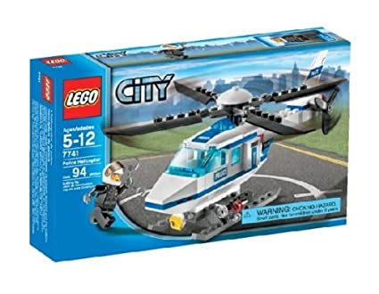 Amazon Lego City Police Helicopter 7741 Toys Games