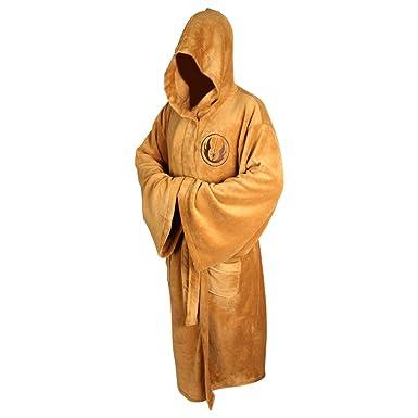 Jedi Dressing Gowns - Star Wars Bath Robes (Costume)  Amazon.co.uk ... 8c0b9a685