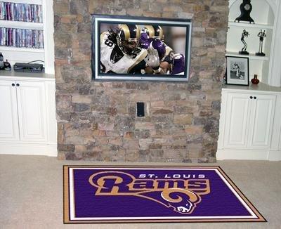NFL - St Louis Rams 4 x 6 Rug