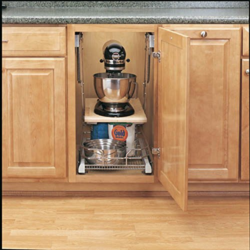 Amazon.com   Rev A Shelf   RAS ML HDCR   Full Height Base Cabinet Heavy  Duty Mixer Lift   Electric Stand Mixers