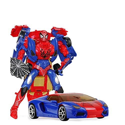 Xuping Kinder pädagogisches Spielzeug Verformung Spinne Avengers Robot Alliance Modell junge Spielzeug Verformung Auto Modell Geschenk
