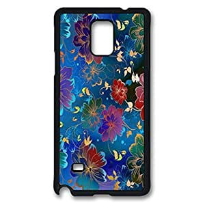 Floral Pattern 2 Design Hard Case for Samsung Galaxy Note 4 -1126016