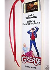 GREASE Movie Film Cell Bookmark Memorabilia Collectible Complements Poster Book Theater