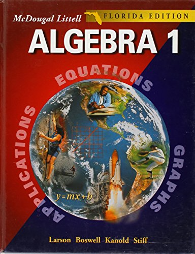 McDougal Littell High School Math Florida: Student Edition Algebra 1 2004