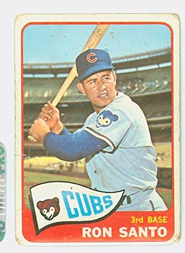 Motiv Frame Single (1965 Topps Baseball 110 Ron Santo Chicago Cubs)