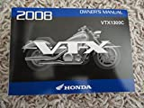 2008 Honda VTX1300 Owners Manual VTX 1300 C