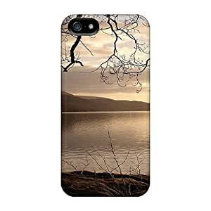 Iphone 5/5s Case Cover Lake Framed By A Tree Case - Eco-friendly Packaging