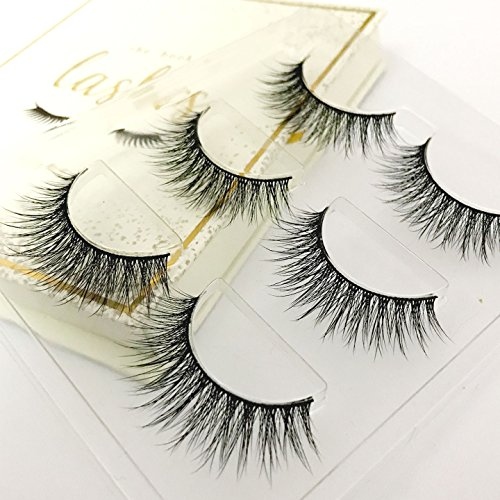 The Book of Lashes: Volume 1 - Reusable False Eyelashes - Cruelty Free - 3 Pairs ()